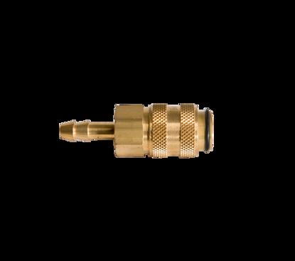 Afbeeldingen van Snelkoppeling met vaste slangtule 5mm x vrouwtje - passend Rectus 21