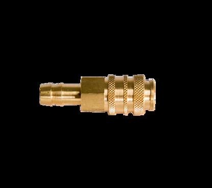 Afbeeldingen van Snelkoppeling met vaste slangtule 8mm x vrouwtje - passend Rectus 21