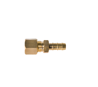 Picture of Knelkoppeling 8mm x slangtule messing
