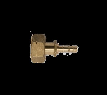 Afbeeldingen van Doorstroombegrenzer DIN/universeel 21,8 l inw.(kogel/veer)