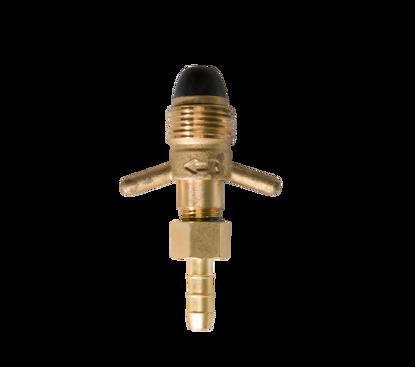 Afbeeldingen van Slangtule 8mm POL met nylon dop (softnose) - handwarteluitvoering