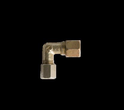 Afbeeldingen van Knie 1 x 6mm- 1 x 8mm staal