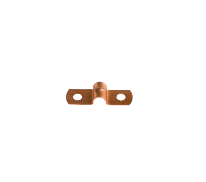 Afbeeldingen van Pijpzadel 6mm roodkoper
