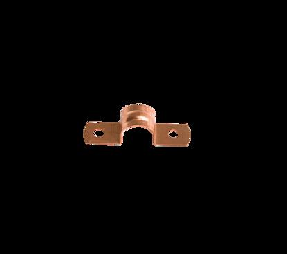 Afbeeldingen van Pijpzadel 12mm roodkoper