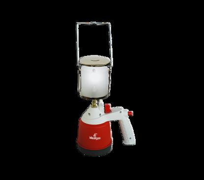 Afbeeldingen van Gaslamp ideal met handgreep en Piëzo