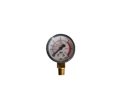 "Picture of Manometer diameter 40mm x 1/8"" r uitw.  0- 6 bar"