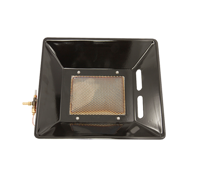 Afbeeldingen van Infrarood straler 8 standen, propaan met filter voor stoffige ruimtes