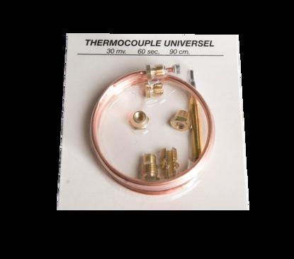 Afbeeldingen van Thermokoppel 90cm en 4 hulpstukken