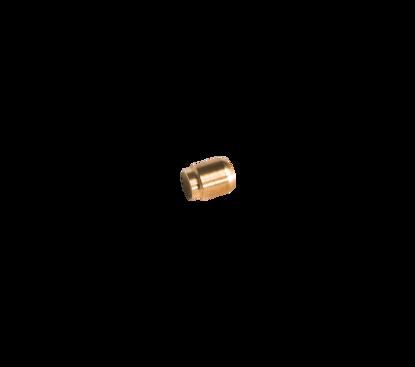 Afbeeldingen van Eindstop knel voor 8mm (tappo)