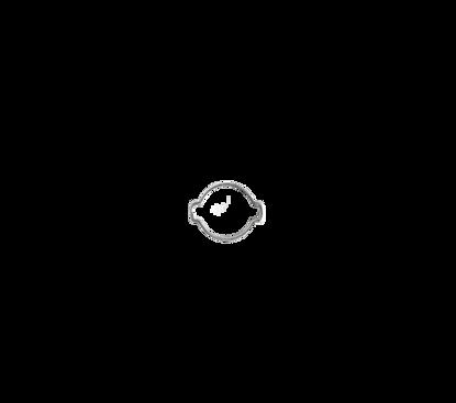 Afbeeldingen van 2- oorklem 11-13mm verzinkt