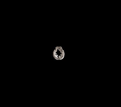 Afbeeldingen van 1- oorklem- klembereik 6.8- 8.0mm verzinkt