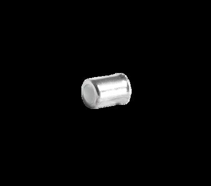 Afbeeldingen van Klemhuls 13,5 x 20 x 9.5mm (slang 6 x 13mm) staal