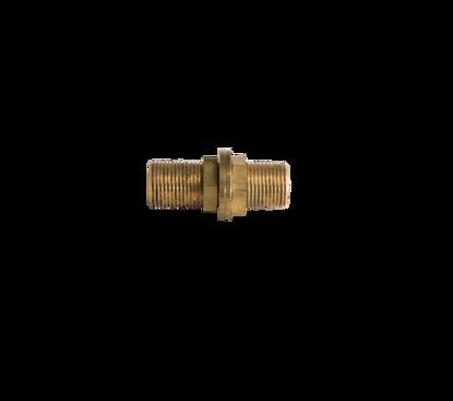 Picture of Schotkoppeling haaks messing 2 x 12mm knel
