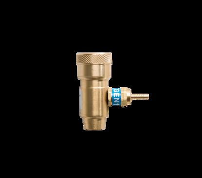 Afbeeldingen van Kraan/drukregelaar voor zuurstofcylinder 110l