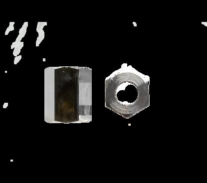 Picture of Wartel koolzuur verchroomd 21,8R Ru1