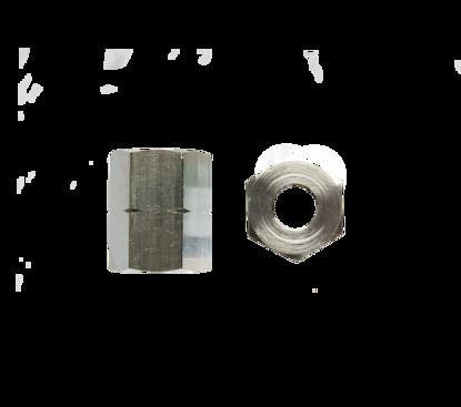 Picture of Wartel M19x1,5 l verchroomd 40mm NEN Lu0