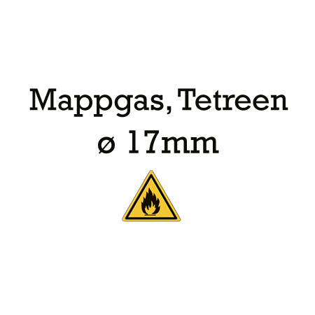 Picture for category 17mm lijnen - Mappgas, Tetreen