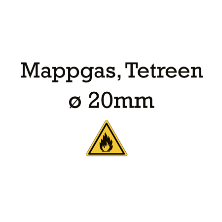 Picture for category 20mm lijnen - Mappgas, Tetreen