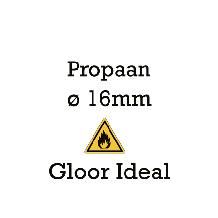 Picture for category Gloor Ideal 16mm - propaan