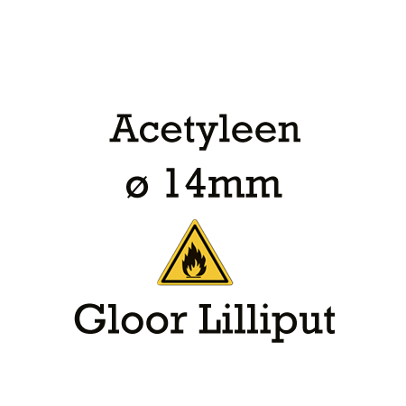 Picture for category Gloor Lilliput 14mm - acetyleen