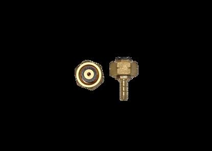 Afbeeldingen van Doorstroombegrenzer KOMBI/DIN (kogel/veer)