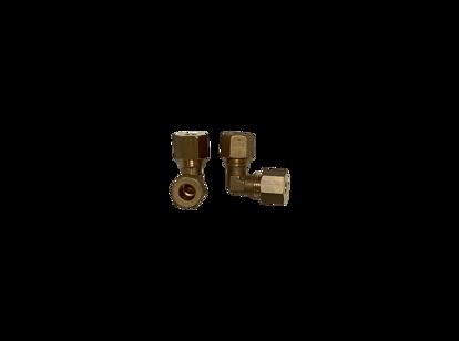 Afbeeldingen van Knie 1 x 8mm- 1 x 10mm staal