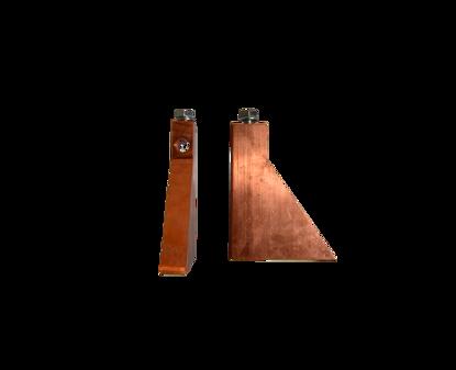 Afbeeldingen van Zoolbout 100% roodkoper 700 gram met vlamgat