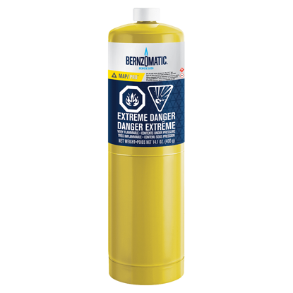 Afbeeldingen van Bernzomatic wegwerp cilinder MAP-Pro 400 gram - MG9