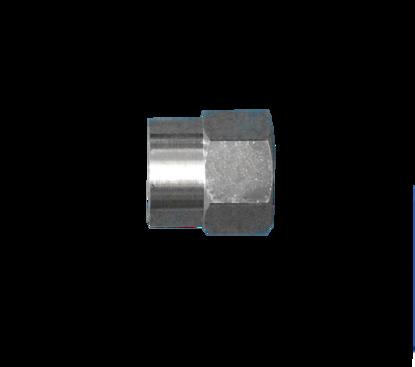 """Picture of Wartel """"Mison"""" verchroomd 1""""W r Ru4"""