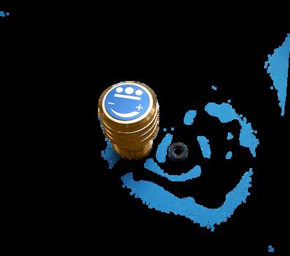 Afbeeldingen van Monoblok afsluiter KS/KHL zuurstof met O-ring