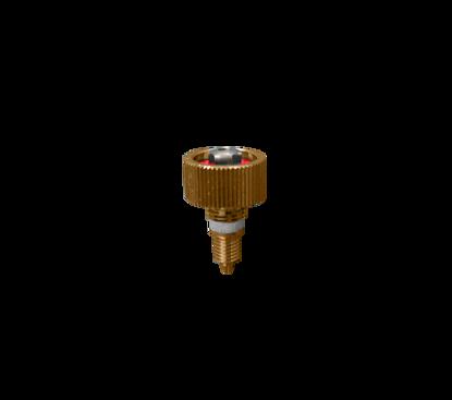 Afbeeldingen van Afsluitspindel gas Gloor Lilliput handgreep compleet