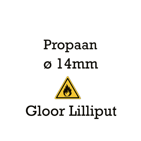 Picture for category Gloor Lilliput 14mm - propaan
